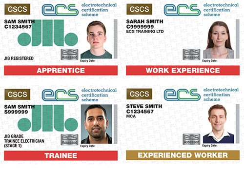ECS cards to support training providers